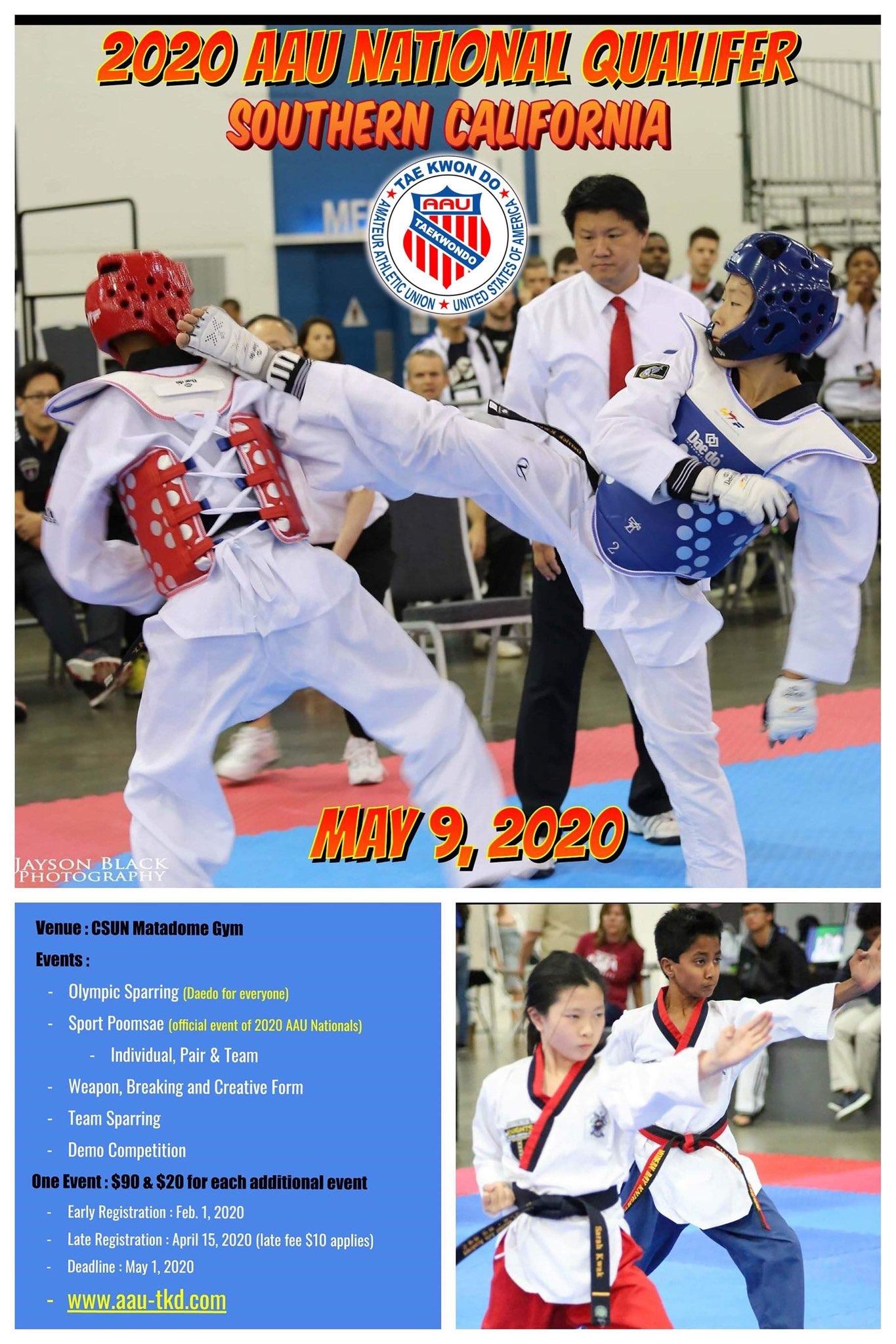 AAU Taekwondo Southern California